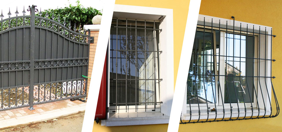 Dgt metaldesign serramenti infissi e porte su misura a - Grate alle finestre ...